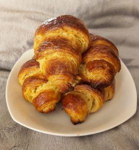 Delicious Homemade Butter Croissants